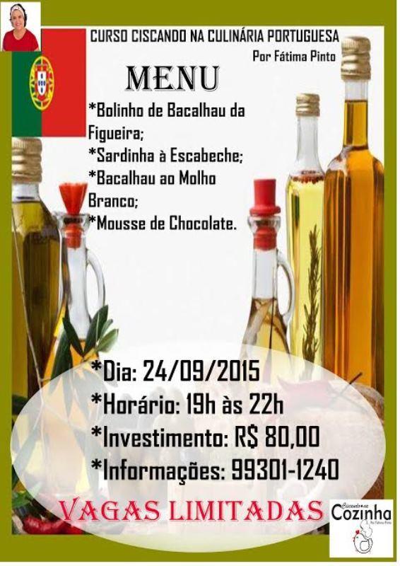 Ciscando na Culinária Portuguesa