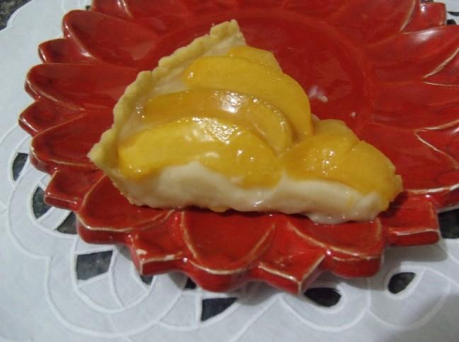 Torta Peruana De Pêssego
