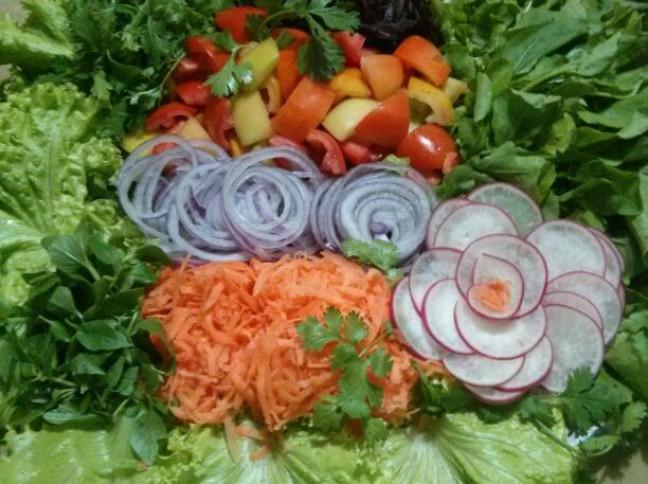 Salada Flor de Guaxuma