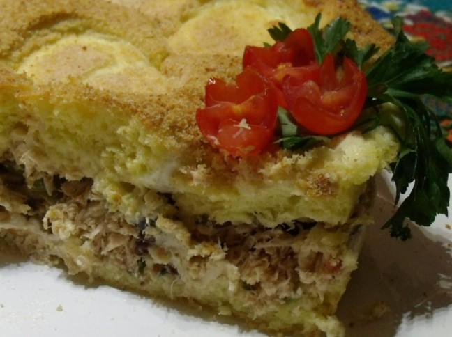 Torta Cremosa de Frango