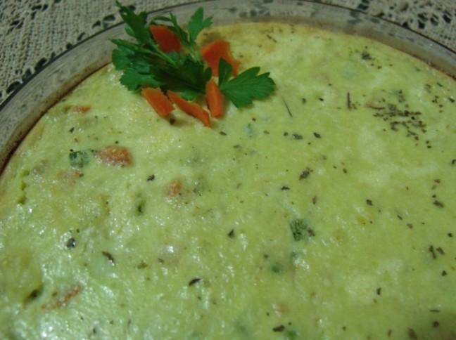 Torta De Legumes Com Atum