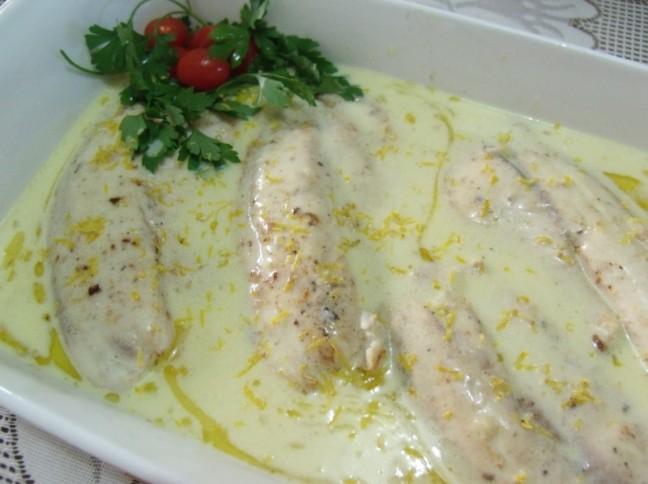 Filé De Tilápia Ao Molho De Limão Siciliano